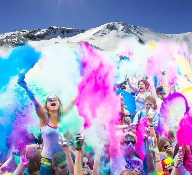 HOLI SNOW!  by Kingdom of Colors.