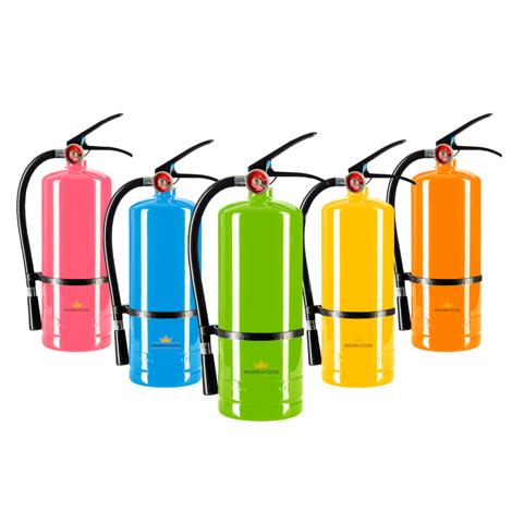 extintor holi polvos de colores